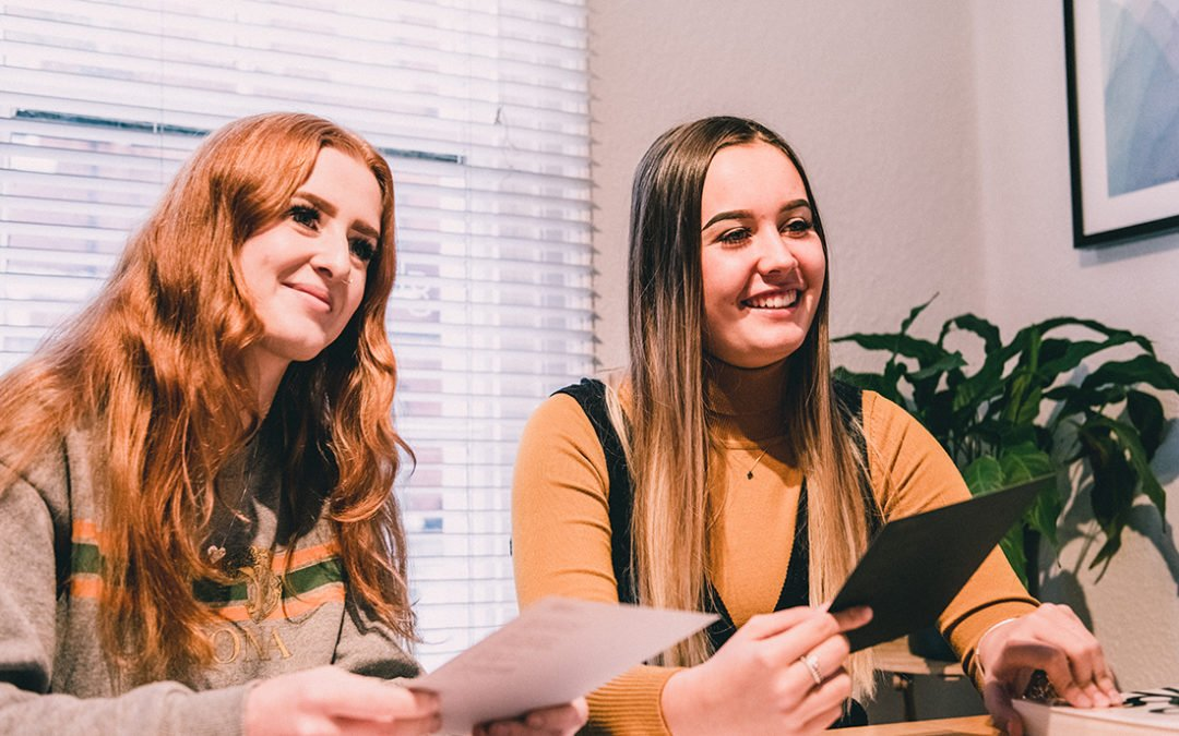 Intern Diaries – Meet Liv and Amy